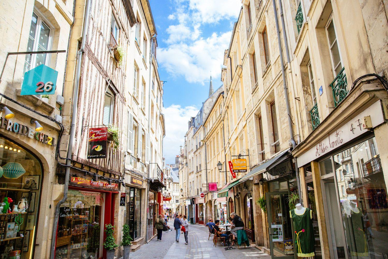 Promenade et découverte des commerces de Caen