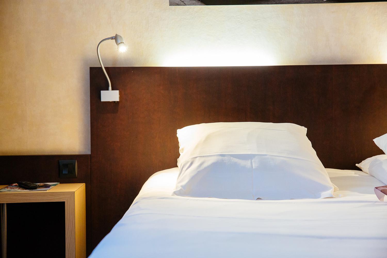 Chambre de l'hôtel Mercure à Caen