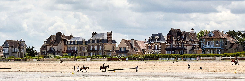 Villas de Lion-sur-mer en Normandie