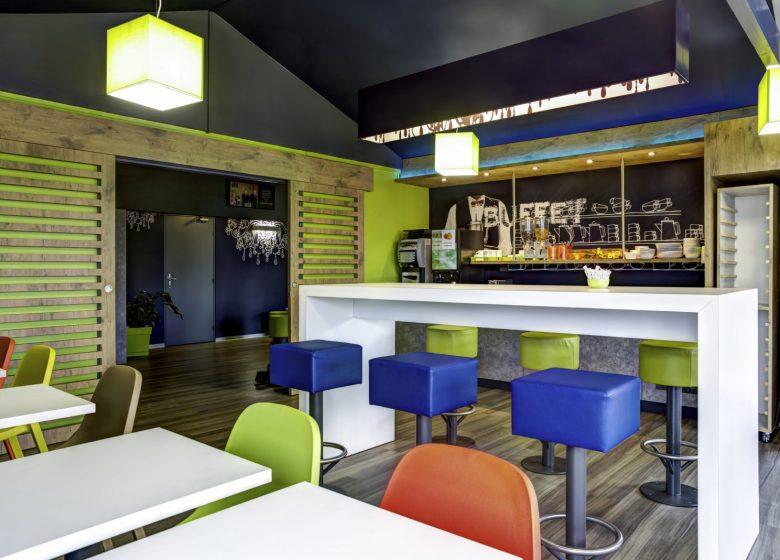 ibis budget Caen Hérouville – Salle de petit-déjeuner