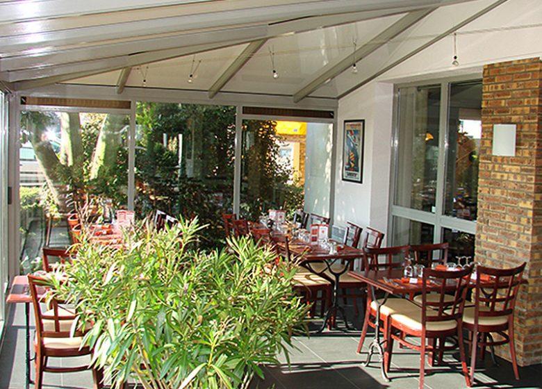 Best Hotel Caen – veranda