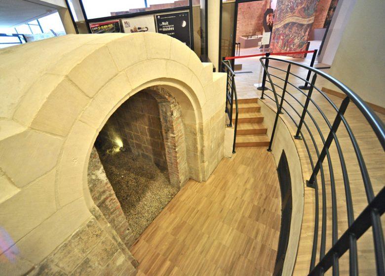 Salle des remparts au musée de Normandie à Caen