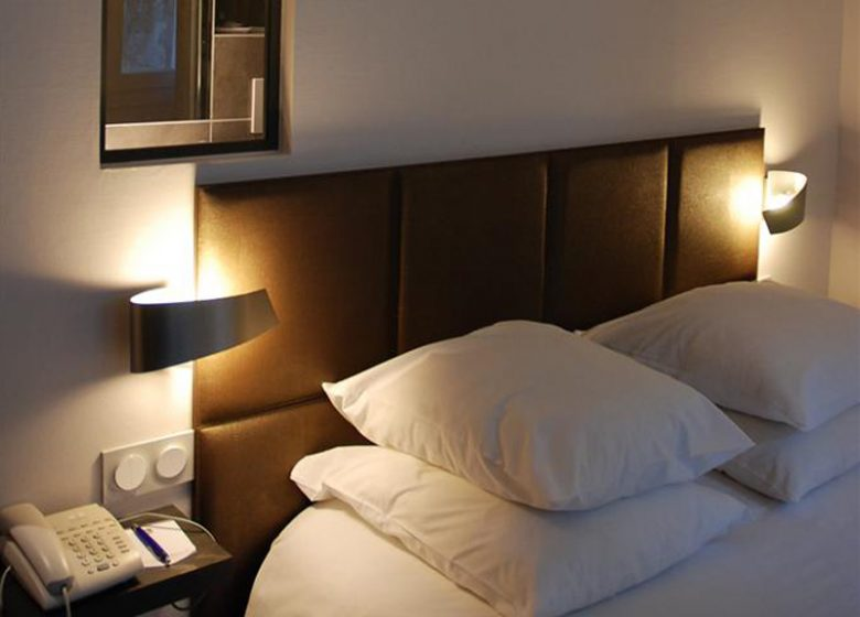Hotel le Dauphin – Caen – chambre 2