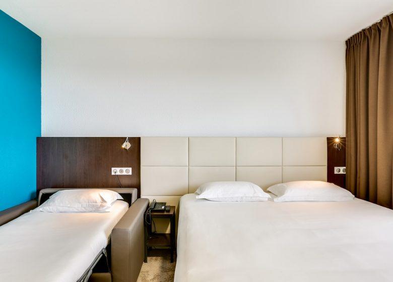Hôtel Balladins Caen Mémorial – Chambre triple