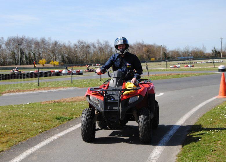 Karting de Démouville, quad