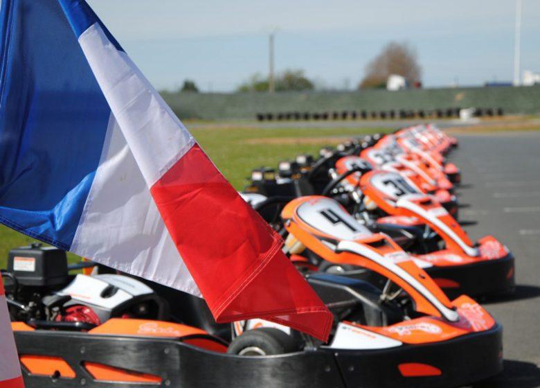 Karts du karting de Démouville