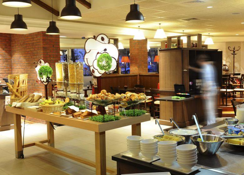 Hôtel Ibis Caen Centre Port de plaisance – petit-déjeuner