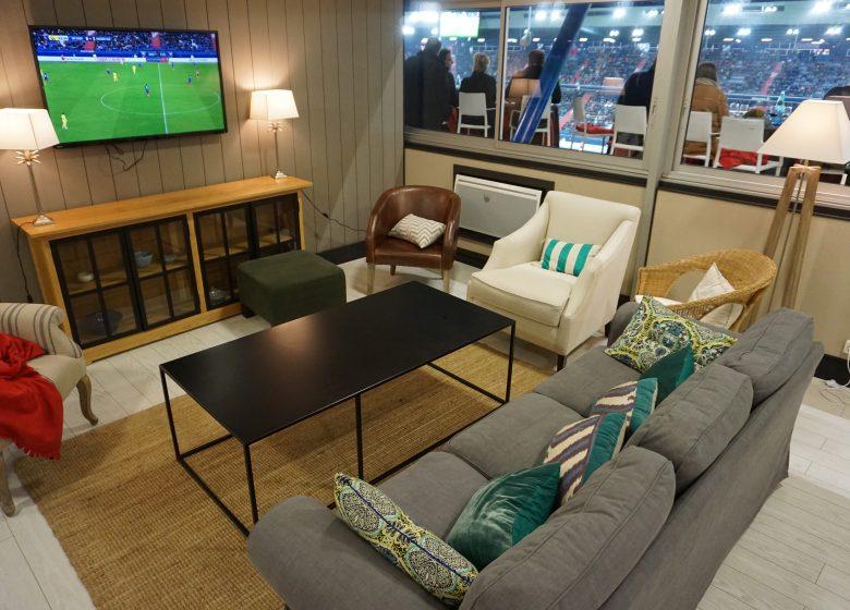 Stade Malherbe CAEN – Salon des Etoiles – salle de reception