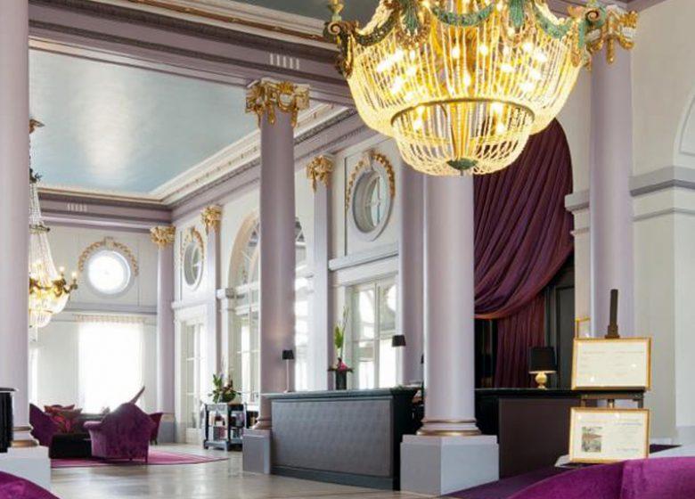 Hall du Grand Hôtel de Cabourg