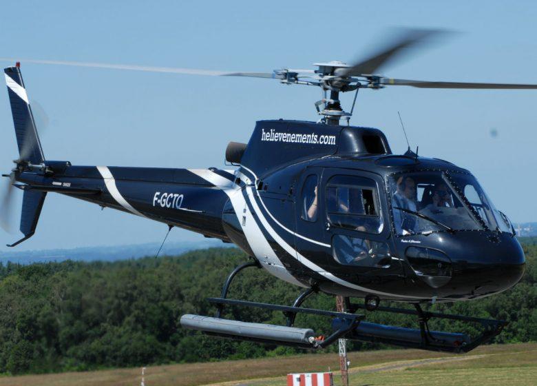 Hélicoptère Ecureuil AS 350