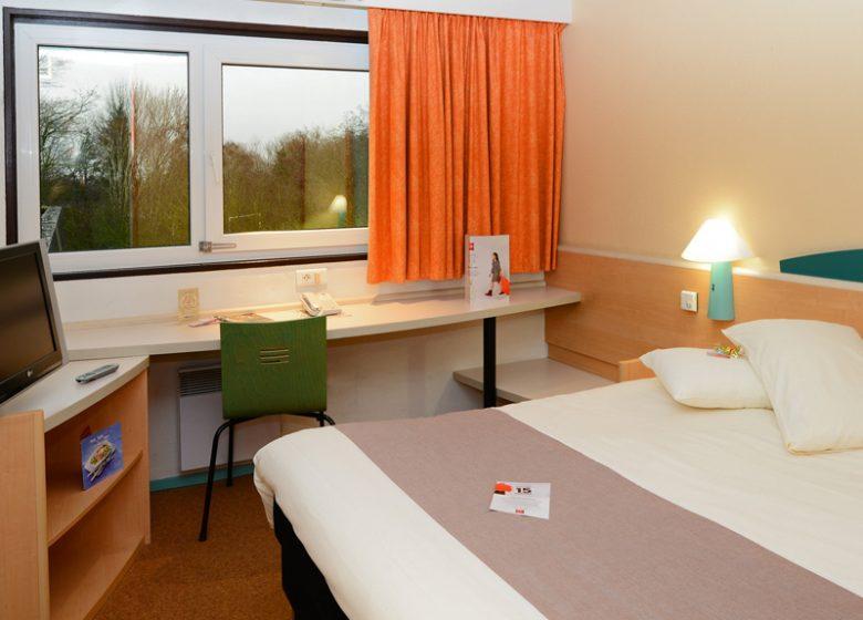 Hôtel Ibis Caen Hérouville Savary – chambre