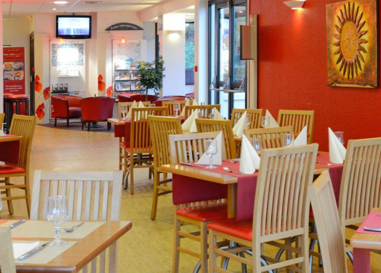 Hôtel Ibis Caen Hérouville Savary – restaurant