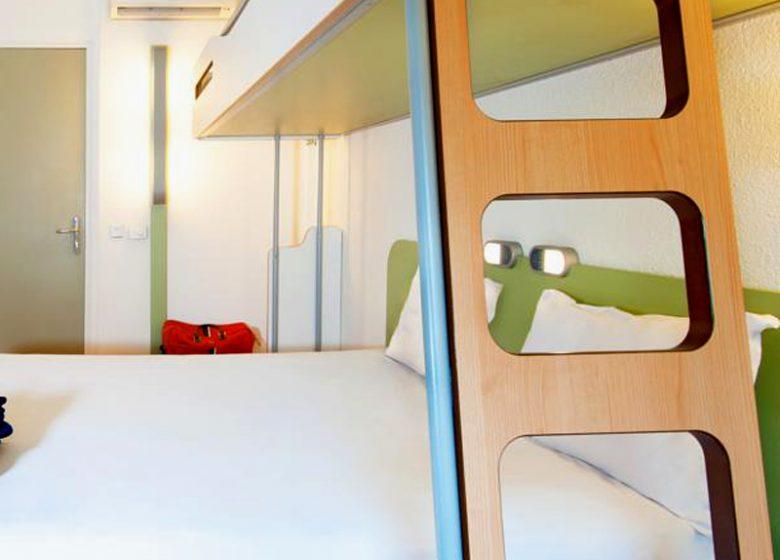 Hotel Ibis Budget Caen Gare – chambre