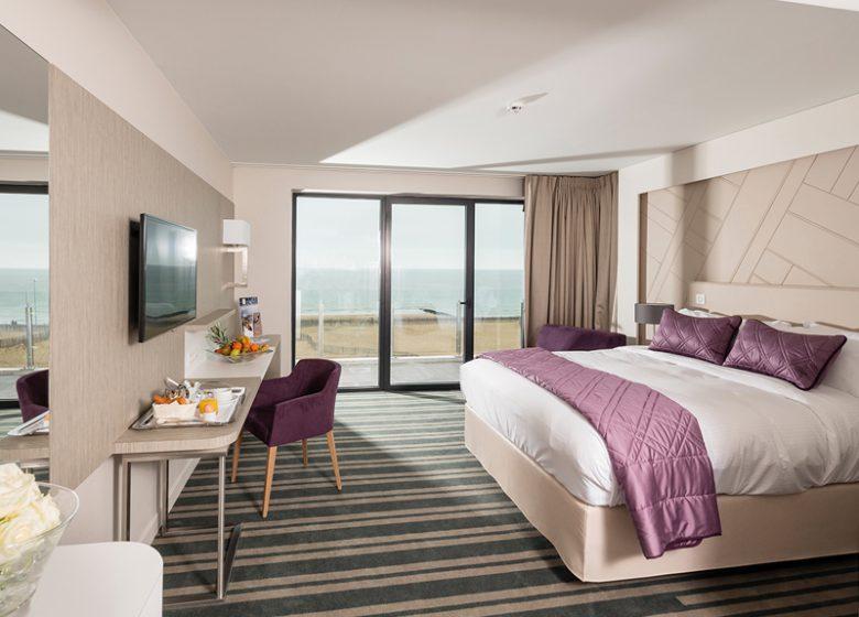 Hotel Les Bains de Cabourg – chambre exclusive