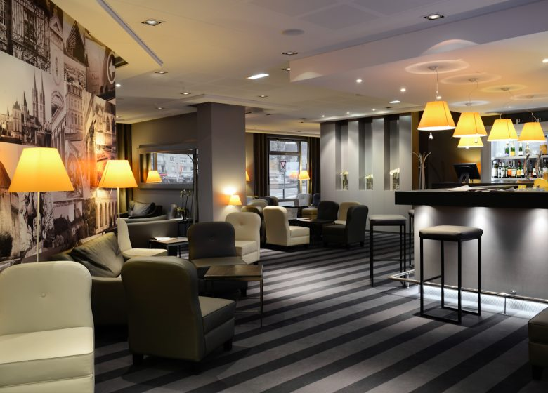 Hôtel Mercure Caen centre port de plaisance – Bar