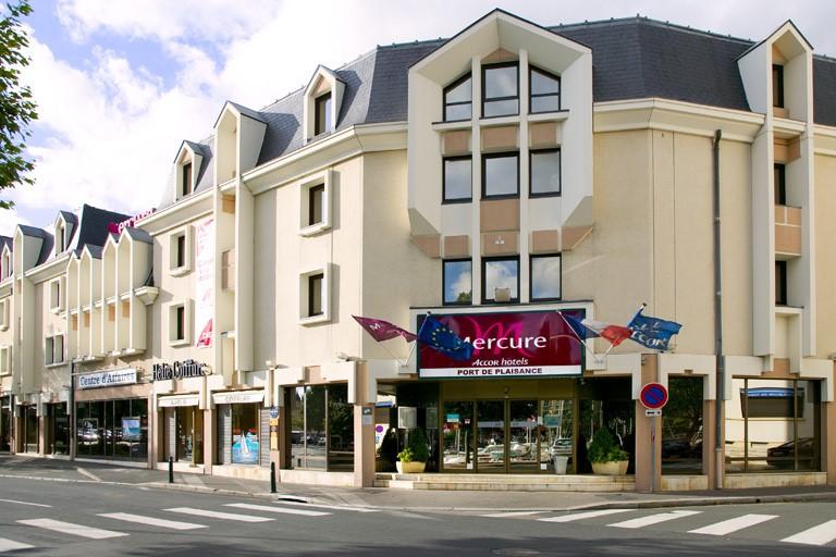Hôtel Mercure Caen centre port de plaisance – Façade © MDesdoits