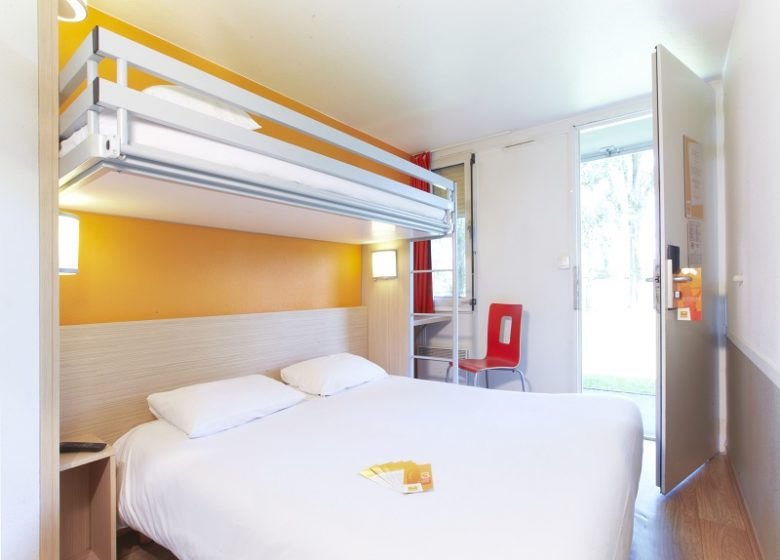 Hôtel Première Clase Mondeville – chambre 1