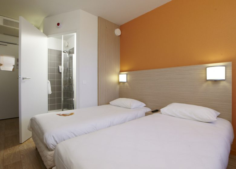 Hotel Première Classe St Contest – chambre twin