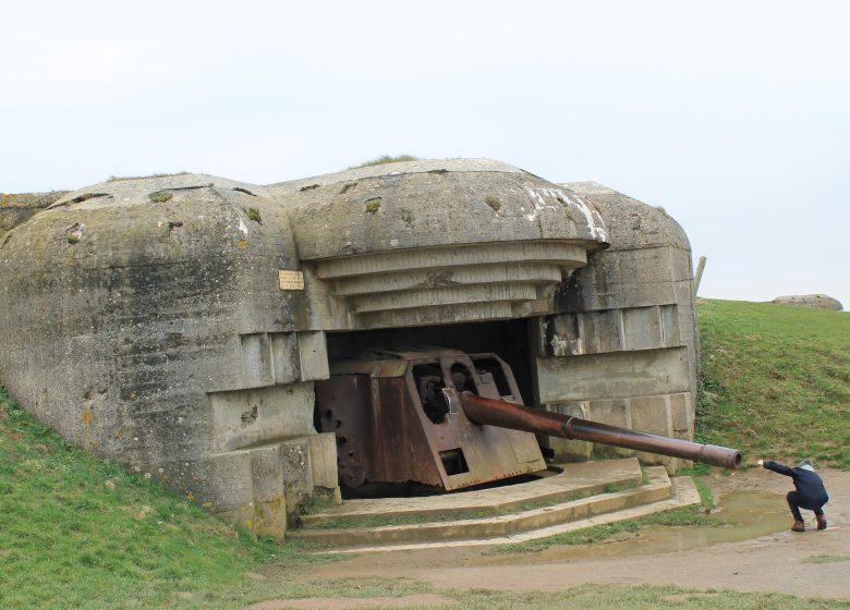 Pointe du hoc german battery