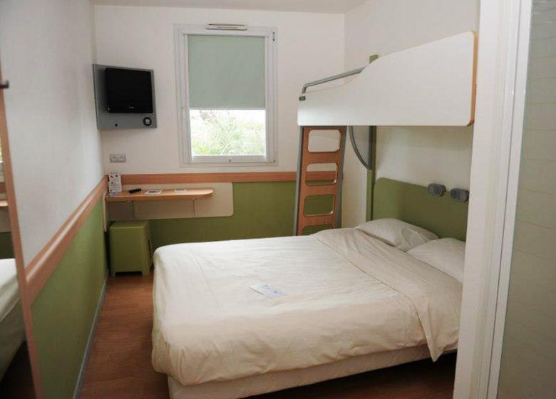 Hotel Ibis Budget Caen Gare – chambre 2