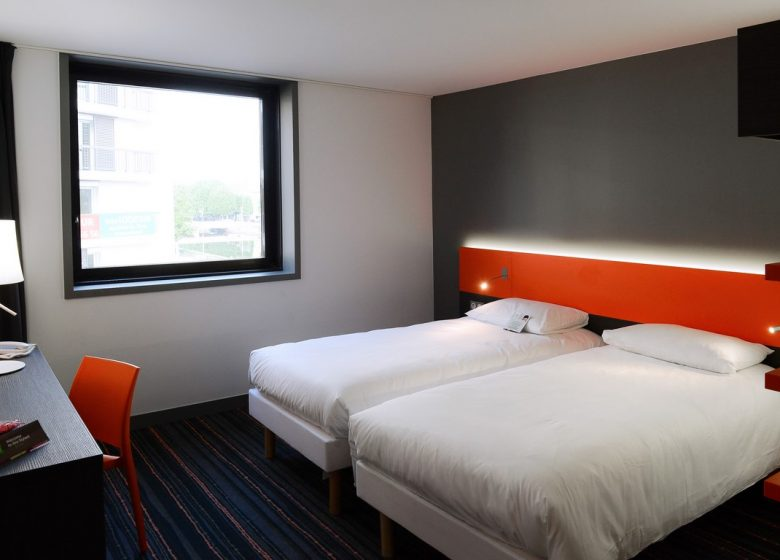 Ibis STyles Caen Centre Gare chambre twin