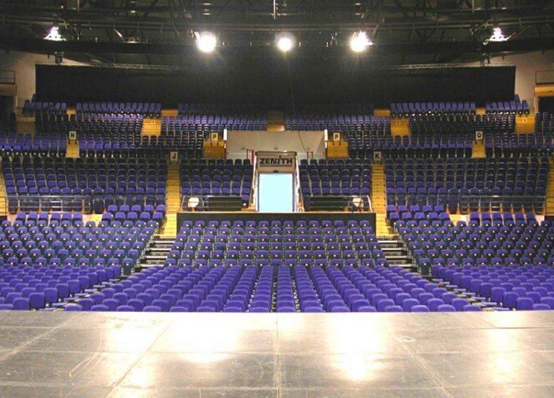 Zenith Caen – intérieure salle