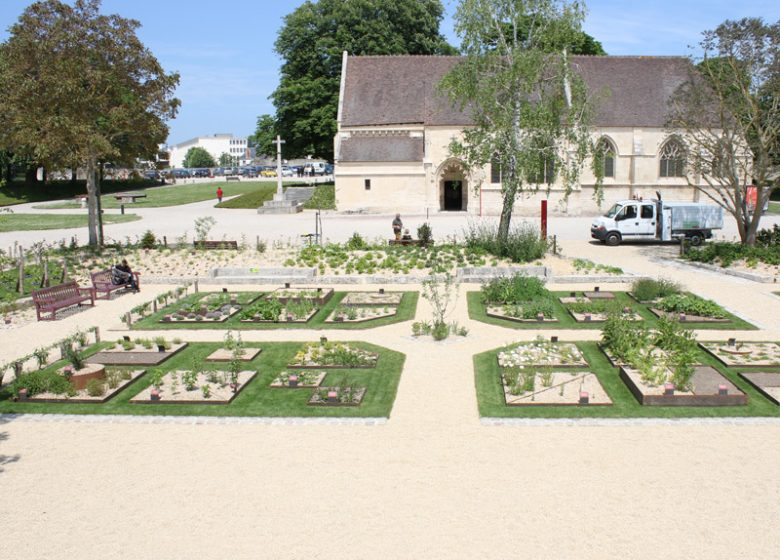 Jardin des simples à Caen