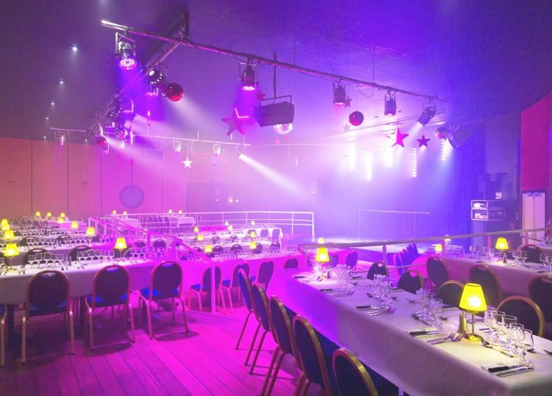 Diner spectacle casino