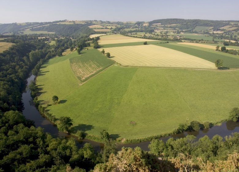 Panorama vallée Calvados
