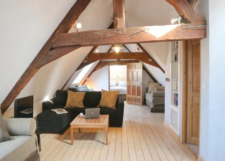 Le Loft à Caen, salon