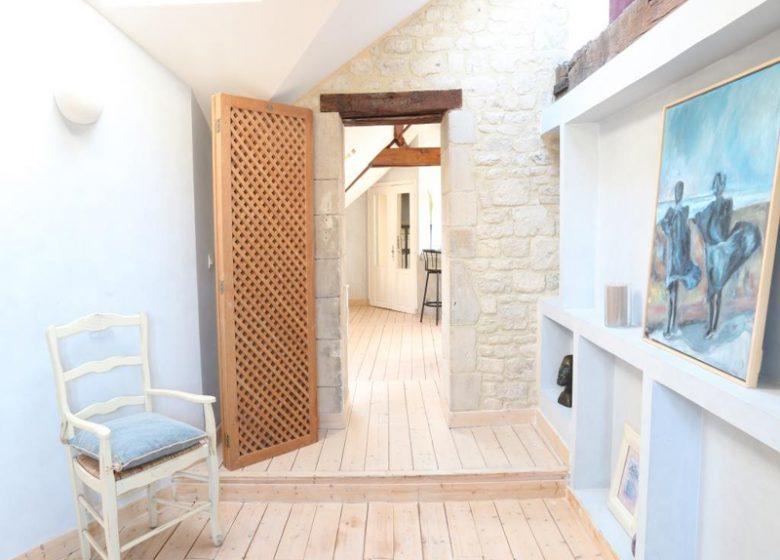 Le Loft à Caen, couloir