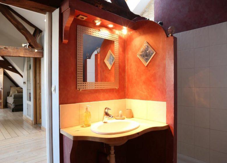 Le Loft à Caen, salle d'eau