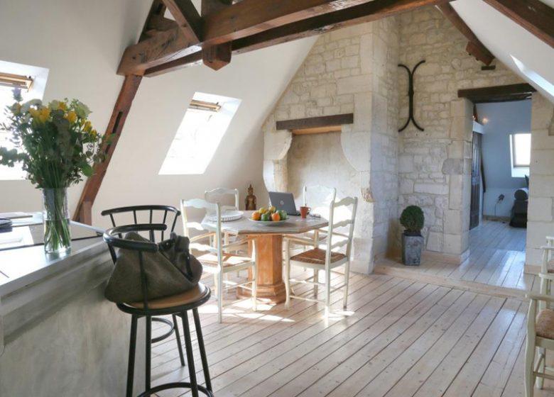 Le Loft à Caen, séjour