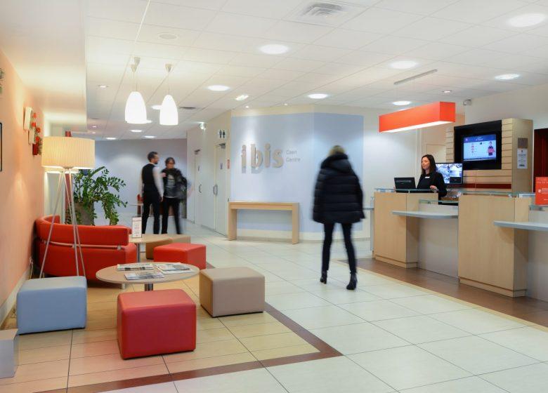 Hôtel Ibis Caen Centre Port de plaisance – Réception