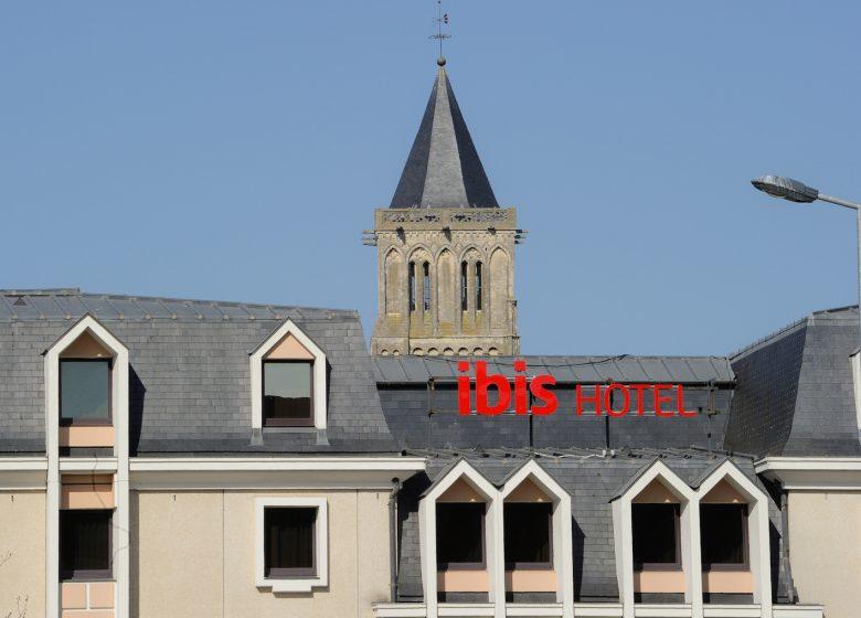 Hôtel Ibis Caen Centre Port de plaisance – vue extérieure