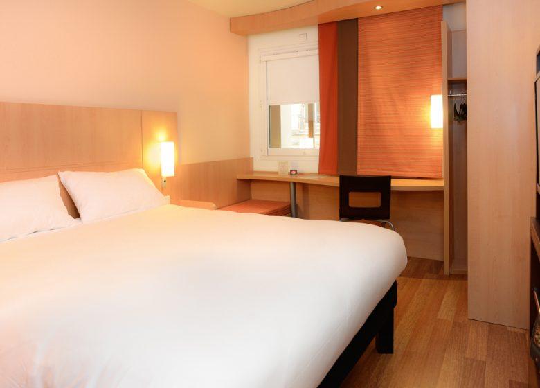 Hôtel Ibis Caen Centre Port de plaisance – chambre