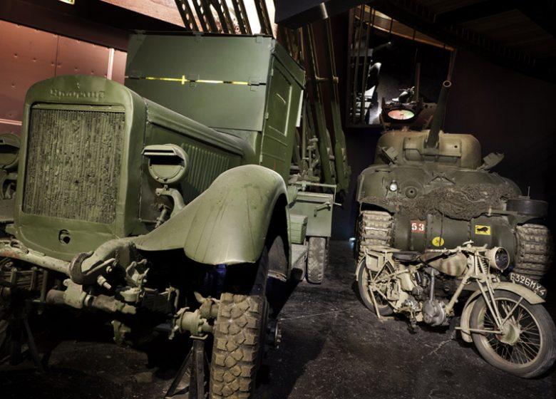 Le Mémorial de Caen, engins de la bataille de Normandie