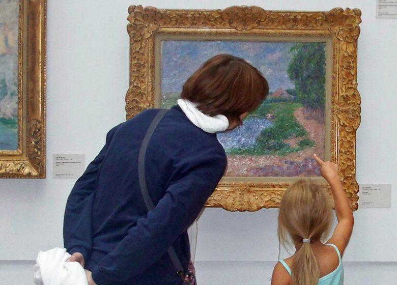 Visite du musée des Beaux-Arts de Caen