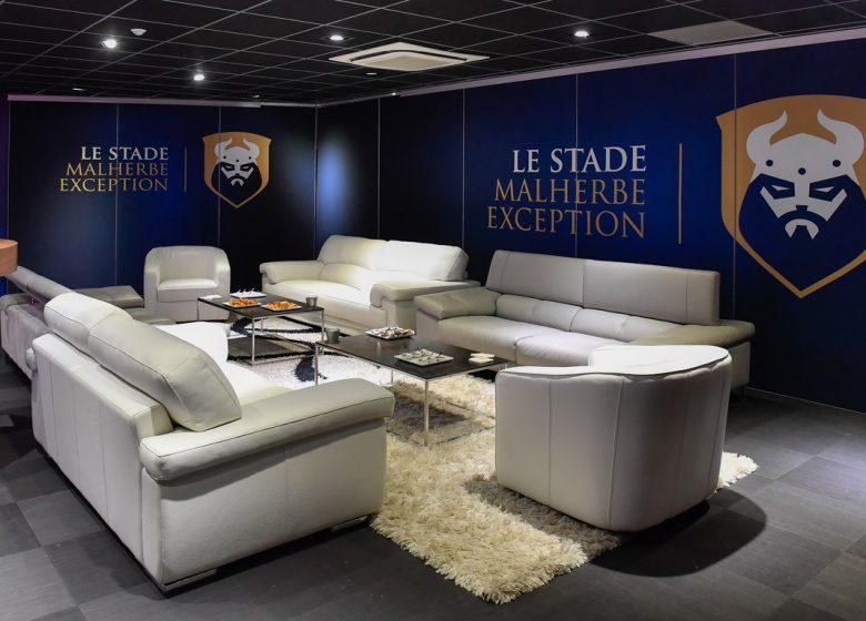 SM Caen – salon des legendes VIP 1