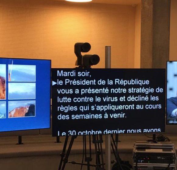 Solutions Prompteur – prompteur-plasma-camera-tourelle-©Solutions Prompteur