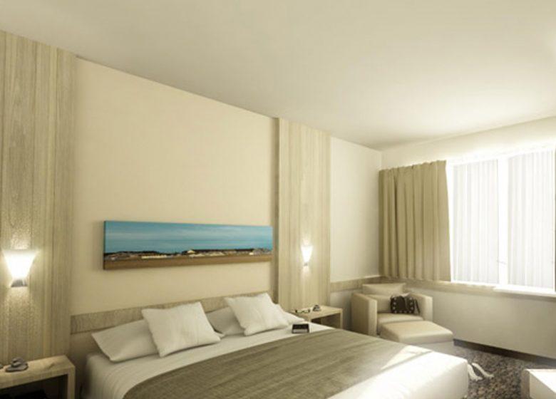 Hôtel Riva Bella Thalazur – Ouistreham – chambre