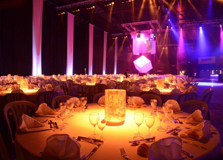 Zénith Caen – Table Banquet – © Stéphane Dévé