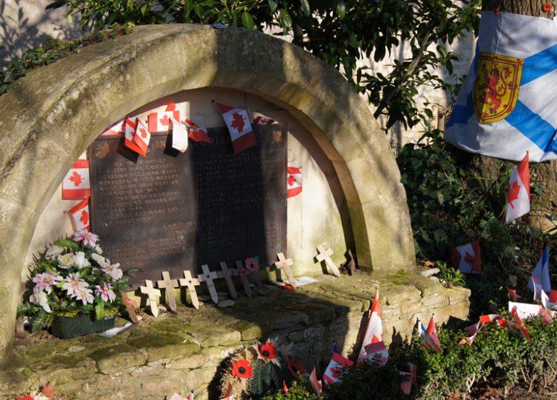 Mémorial canadien à l'Abbaye d'Ardenne