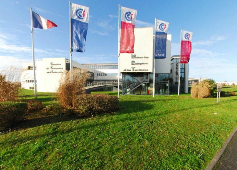 CCI Caen Normandie – Vue extérieure