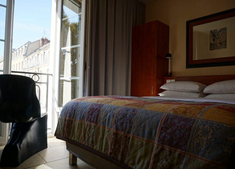 Chambre Confort Double pour personne à mobilité réduite
