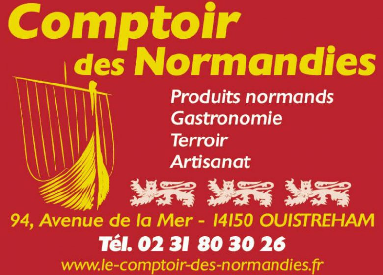 le comptoir des normandies_carte de visite