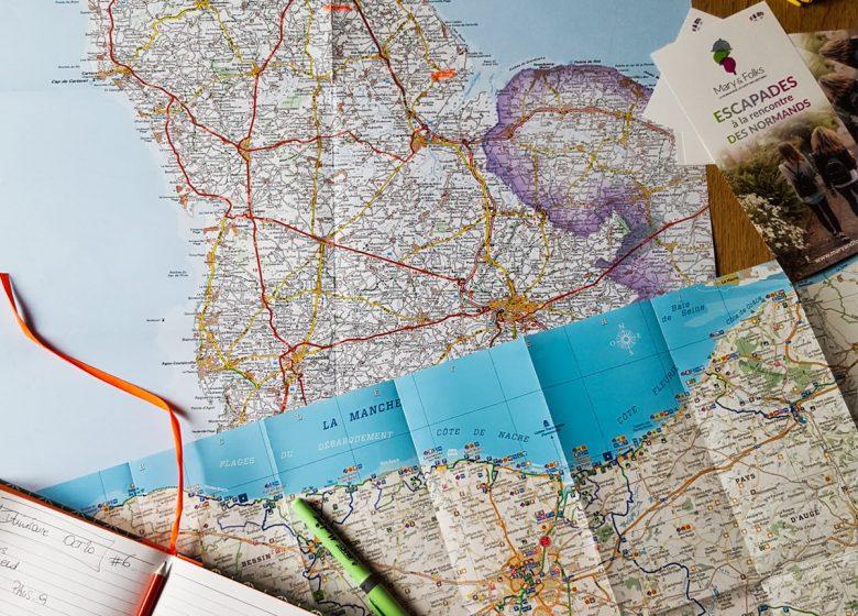 Circuits culturels et gourmands itinérants en normandie