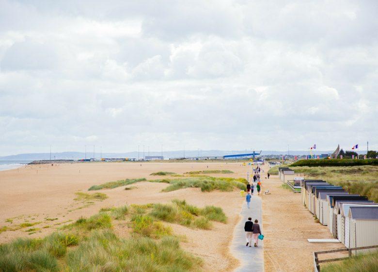 ouistreham sword beach caen la mer tourisme