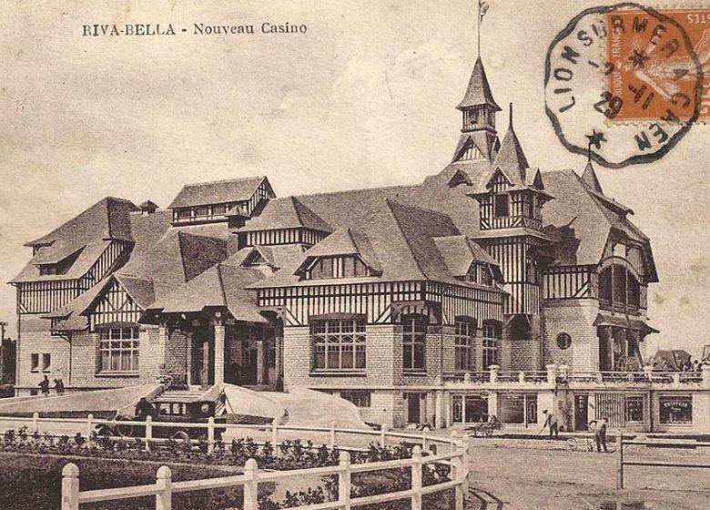 Carte postale ancienne du casino de Ouistreham