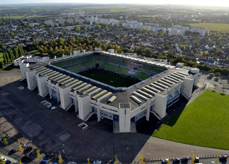 Stade Malherbe Caen – Vue aérienne